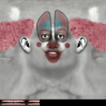 Clown Placeholder Face Texture from NBA Live 2001