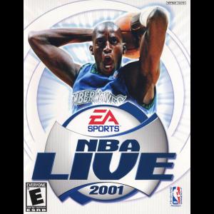 NBA Live 2001 Cover Art
