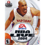 NBA Live 2004 Cover Art