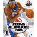 NBA Live 2005 Cover Art