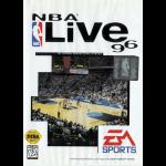 NBA Live 96 Cover Art - Sega Genesis