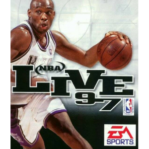 NBA Live 97 Cover Art