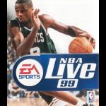 NBA Live 99 Cover Art