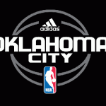 The Oklahoma City Thunder logo, as it appeared in NBA Live 09