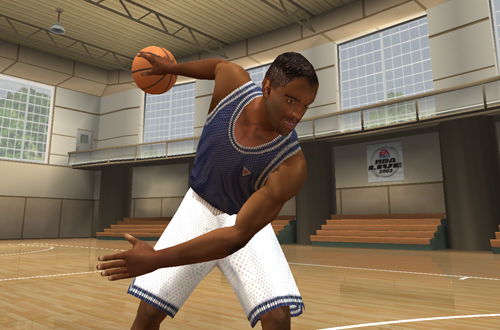 D.J. Clue in NBA Live 2003