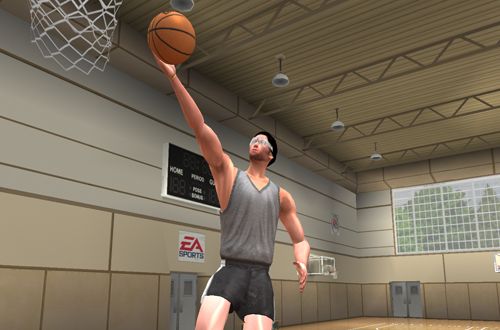 Hot Karl in NBA Live 2003