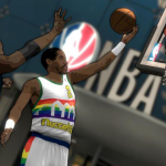 Alex English in the NBA 2K12 Legends Showcase DLC