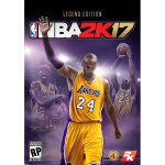 NBA 2K17 Legend Edition Cover Art - Kobe Bryant