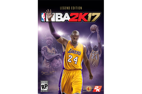 Kobe Bryant's NBA 2K17 Legend Edition Cover