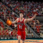 Created Player in NBA Live 2000 using Face in the Game