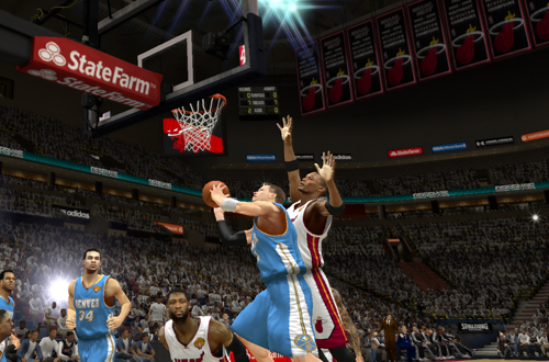 Taking on the Heat in NBA 2K13's MyCAREER