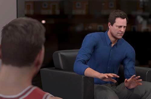 Owner Scene in NBA 2K16 MyCAREER