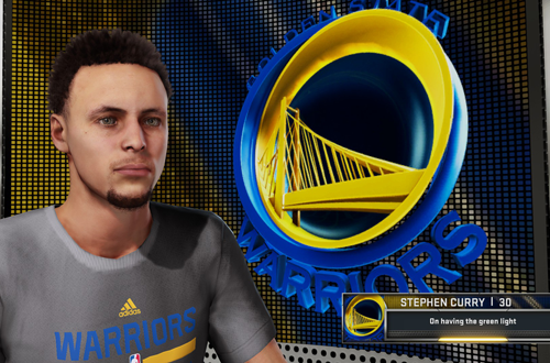 Stephen Curry Interview in NBA 2K16