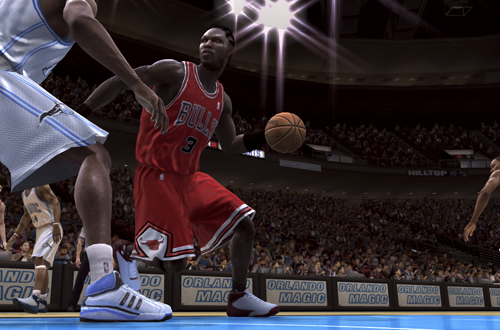 Ben Wallace on the Chicago Bulls in NBA Live 08