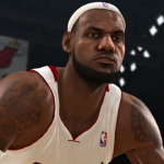 LeBron James in NBA Live 13