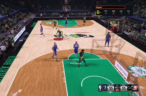 NLSC Greatness vs Brendan Celtics in NBA 2K16's 2K Pro-Am