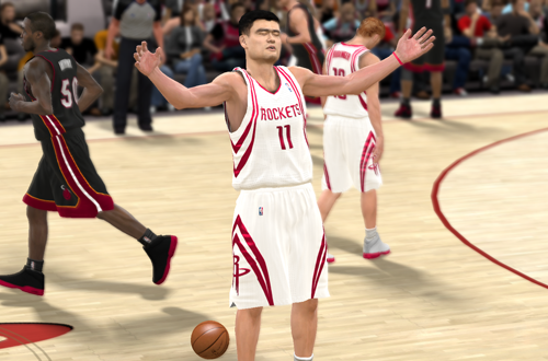 Yao Ming in NBA 2K11