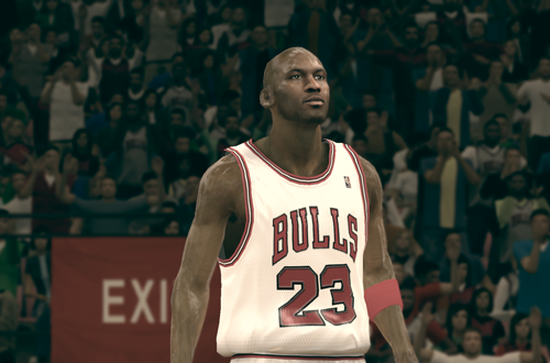 Michael Jordan in NBA's Greatest in NBA 2K12