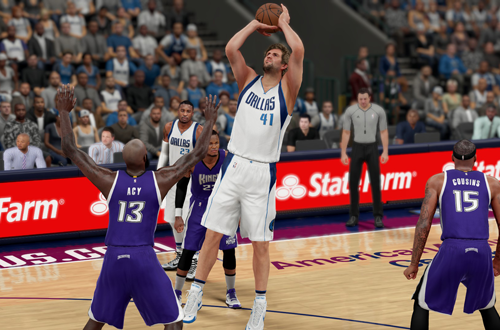 Monday Tip-Off: Pro Stick vs. Shoot Button in NBA 2K | NLSC