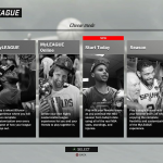 NBA 2K17: Choose Mode in MyGM & MyLEAGUE