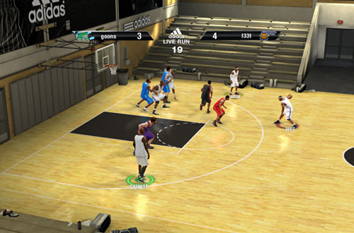 adidas LIVE Run in NBA Live 10