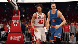 Robin Lopez on the Chicago Bulls in NBA Live 16