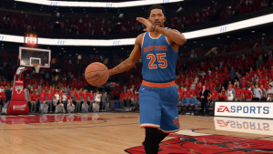 Derrick Rose on the New York Knicks in NBA Live 16