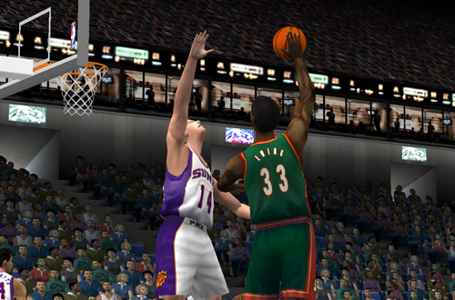 Patrick Ewing in NBA Live 2001