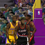 Shawn Kemp in NBA Live 2001