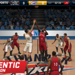 Tip-Off in NBA Live Mobile