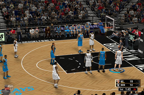 Graphical Glitches in NBA 2K13