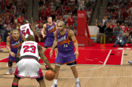 Charles Barkley on the 1993 Suns in the Ultimate Base Roster for NBA 2K14