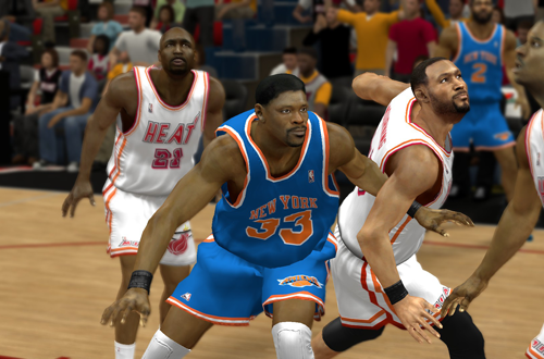 Ewing vs. Mourning in 1997, in the Ultimate Base Roster for NBA 2K14