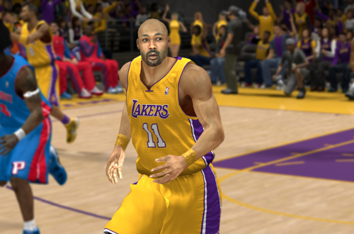 Karl Malone on the 2004 Los Angeles Lakers Ewing vs. Mourning in 1997, in the Ultimate Base Roster for NBA 2K14