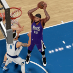 DeMarcus Cousins dunks the basketball in NBA 2K16