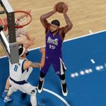 DeMarcus Cousins dunks the basketball in NBA 2K16