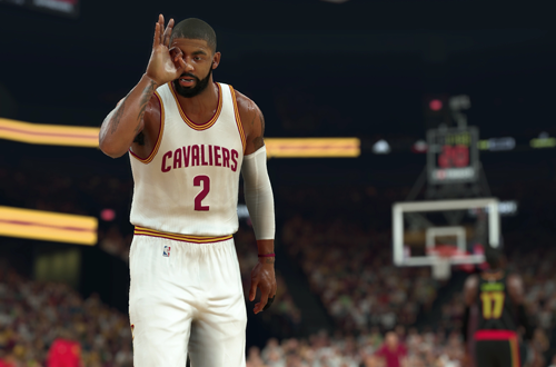 Kyrie Irving in NBA 2K17
