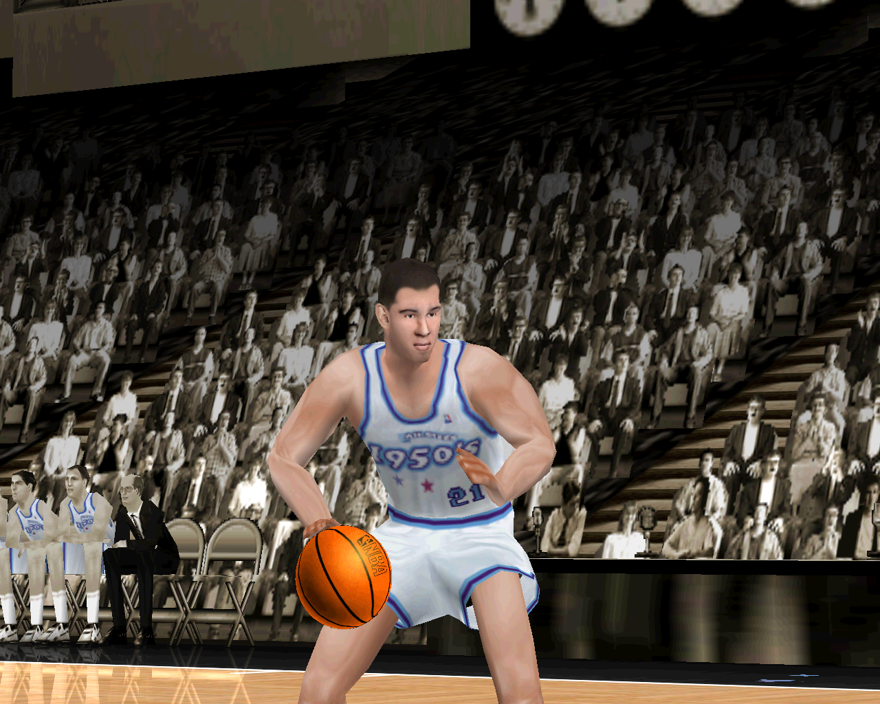 Wayback Wednesday The 50s All Stars in NBA Live 2000