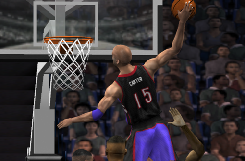 Vince Carter in NBA Live 2002