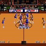 Team USA Basketball for the SEGA Genesis