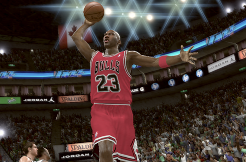 Michael Jordan vs the '97 Utah Jazz in NBA 2K11's Jordan Challenge