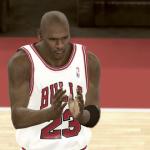 Michael Jordan in NBA 2K11's Jordan Challenge