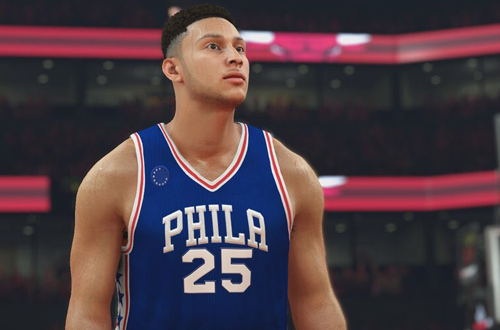Ben Simmons in NBA 2K17