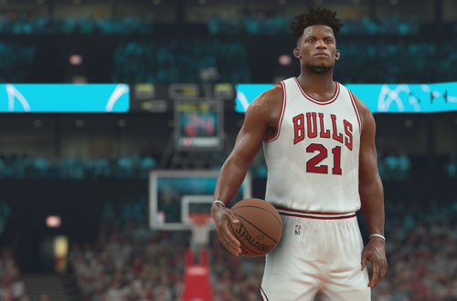Jimmy Butler in NBA 2K17