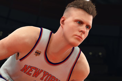 Kristaps Porzingas in NBA 2K17