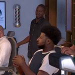 NBA 2K17: Barber Shop in MyCAREER