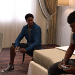 NBA 2K17: Gaming Cutscene in MyCAREER