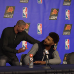 NBA 2K17: Press Conference in MyCAREER