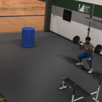 NBA 2K17: Lifting Weights in MyCAREER