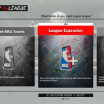 MyLEAGUE & MyGM, NBA 2K17's Franchise Modes